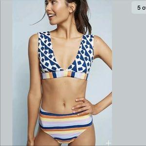 Anthropologie Allihop 2PC Swimsuit Sz Small